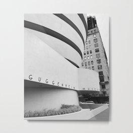 The Guggenheim  Metal Print