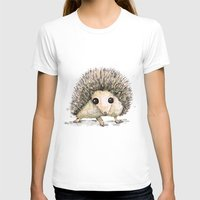 hedgehog T-shirts featuring Hedgehog by Bwiselizzy