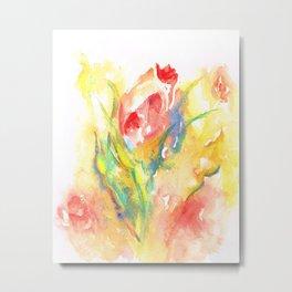 Rose Garden One Metal Print