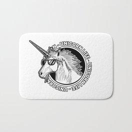 Unicorn Life Bath Mat