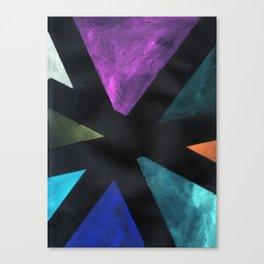 Intersection Triangles / Dennis Weber / ShreddyStudio Canvas Print
