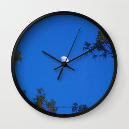 The Moon (At Dusk) - Jeronimo Rubio Photography 2016 Wall Clock