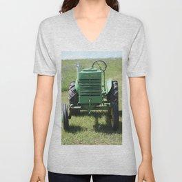 Crank Shaft Antique Tractor Unisex V-Neck
