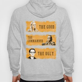 The good, the commander and the ugly - The 100 Hoody