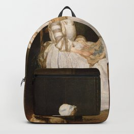 Jean-Baptiste-Simeon Chardin - The Hard-working Mother Backpack