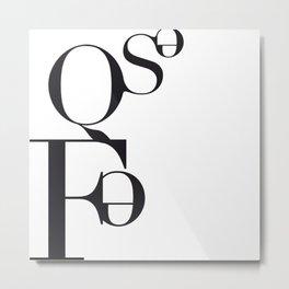 FEQSE Metal Print