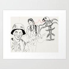 Army Folklore Art Print
