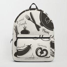 Health Vegetables Backpack