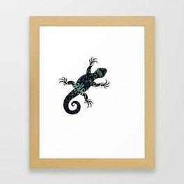 Tuatara Framed Art Print