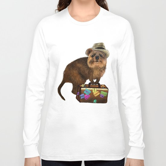 Traveller // quokka Long Sleeve T-shirt