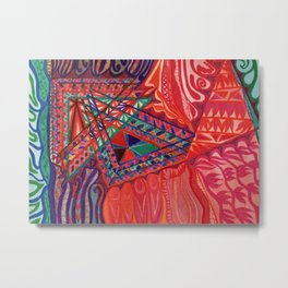 OverComer Metal Print