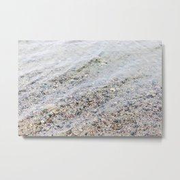 Clean Lake Water Metal Print