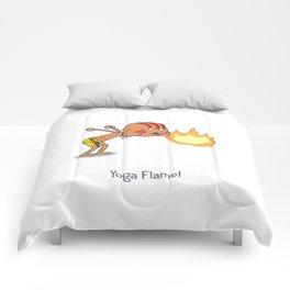 Yoga Flame! Comforters