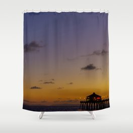 New Moon Over Ruby's Shower Curtain