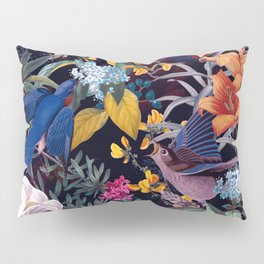The Land of Birds  Pillow Sham