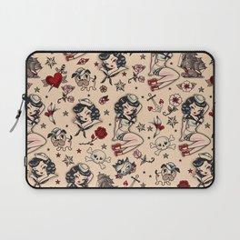 Suzy Sailor Pattern Laptop Sleeve