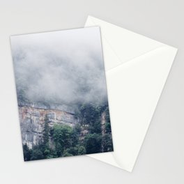 Among the Swiss Clouds Stationery Cards