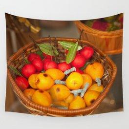 Cumquats & Lingonberries Wall Tapestry