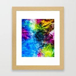 InkCore Eight Framed Art Print