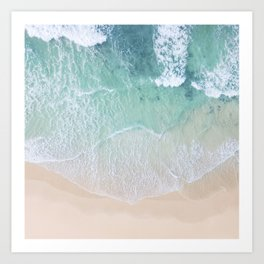 Green Sea Art Print