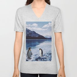 Living Free in the North Unisex V-Neck