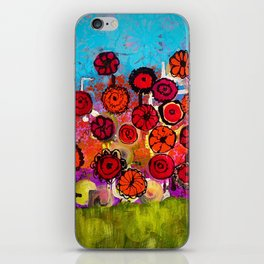 Bloomin Chaos iPhone Skin