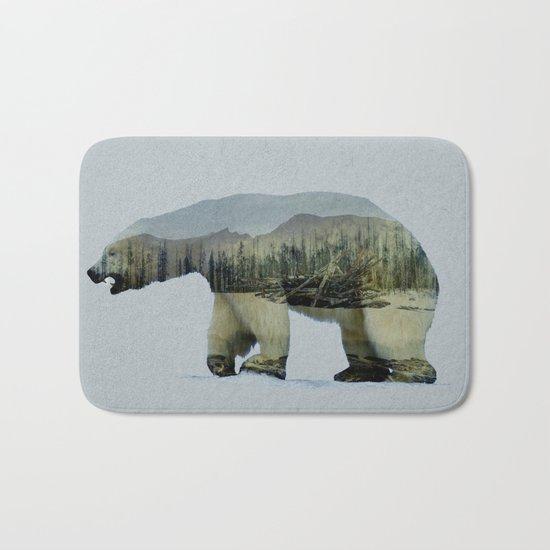 The Polar Bear Bath Mat