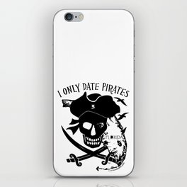 I Only Date Pirates (Florida) iPhone Skin