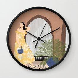 Bohemian Life Wall Clock