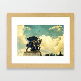 Flight Of Ages Framed Art Print