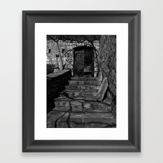 Passage Out Framed Art Print