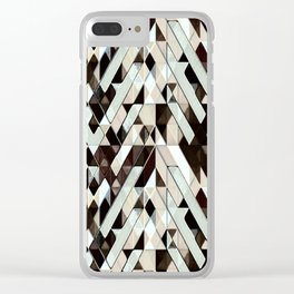 Trashed Clear iPhone Case