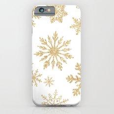 Snowflake Pattern 01 Slim Case iPhone 6