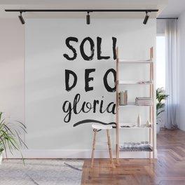 Soli Deo Gloria Wall Mural