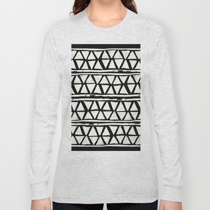 Tribal Geometric Band Long Sleeve T-shirt