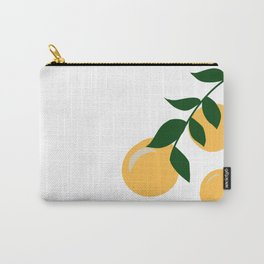 Clementine Branch Carry-All Pouch