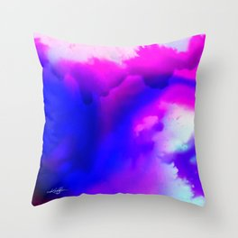 Abstract Bliss 1 by kathy Morton Stanion Throw Pillow