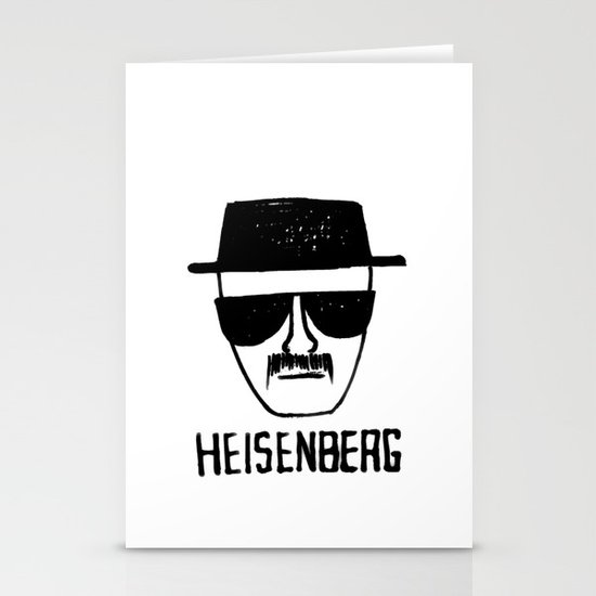 Heisenberg - Breaking Bad Sketch Stationery Cards