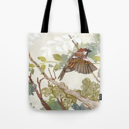 Flying away Tote Bag
