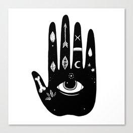 Magic Hand Canvas Print