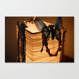 Lucent Butterfly Canvas Print