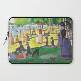 Georges Seurat A Sunday On La Grande Jatte Laptop Sleeve