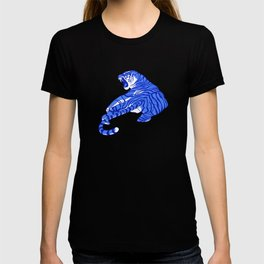 Neon Tigers and Water Lillies. T-shirt