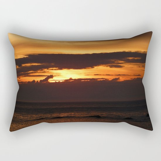 Sunset Shadows Rectangular Pillow