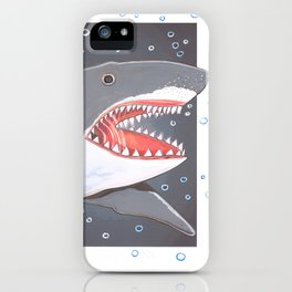 Hark a Shark iPhone Case