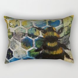 Bee Kind to One Another Rectangular Pillow