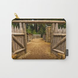Fort Clatsop - Lewis And Clark Carry-All Pouch