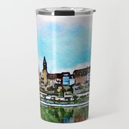 Bremgarten Watercolor Travel Mug