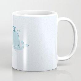 whale family Coffee Mug