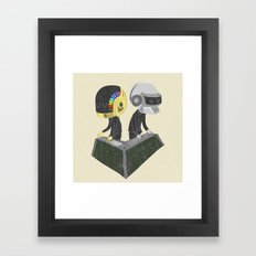 DaftPunk Framed Art Print